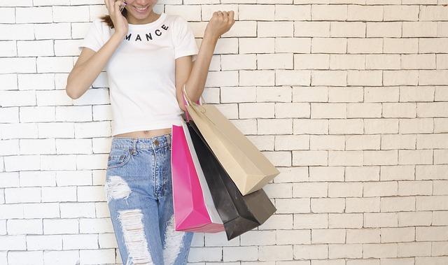 彼女の買い物が長い
