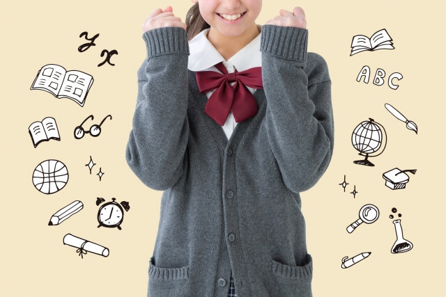 筆箱の中身は何が入ってる?中学生で頭いい女子の筆箱の中身を調査!