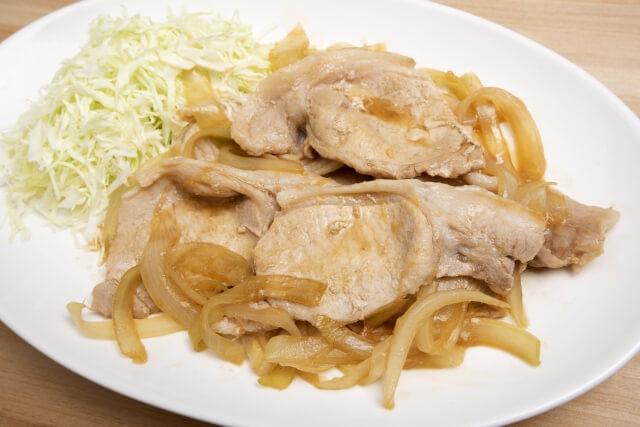 ヒルナンデス豚の生姜焼き