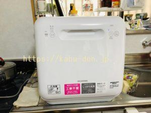 【アイリスオーヤマ食洗機レビュー】工事不要のタンク式を使ってみたリアル体験談