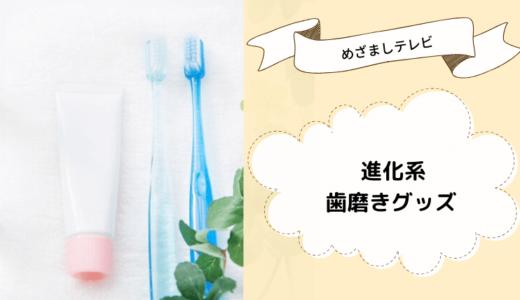 【めざましテレビ】進化系歯磨きグッズ4選!電動歯ブラシ・ジェリーやタブレット型歯磨き粉